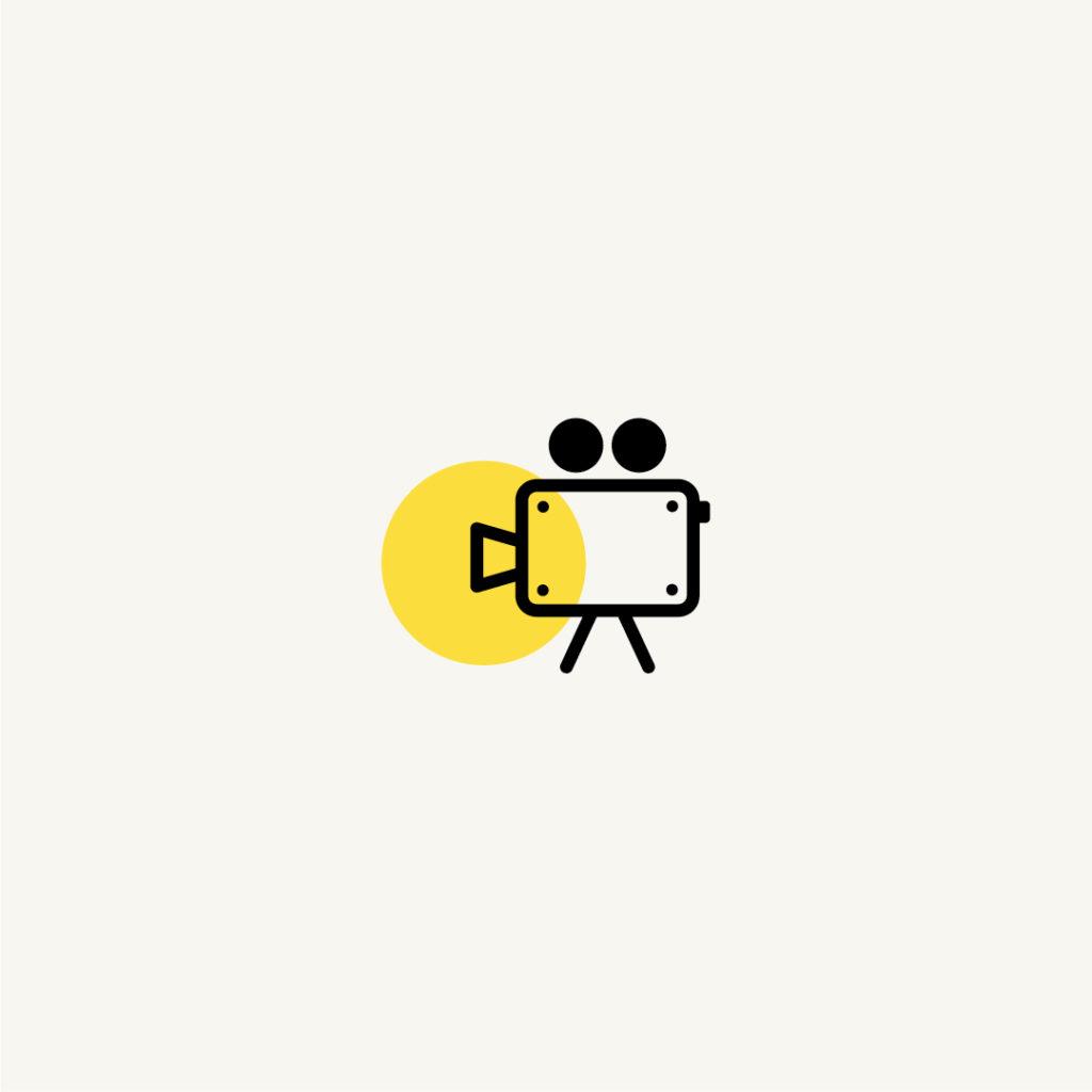 Pictogramme clépucine graphiste, création personnalisé, backstages