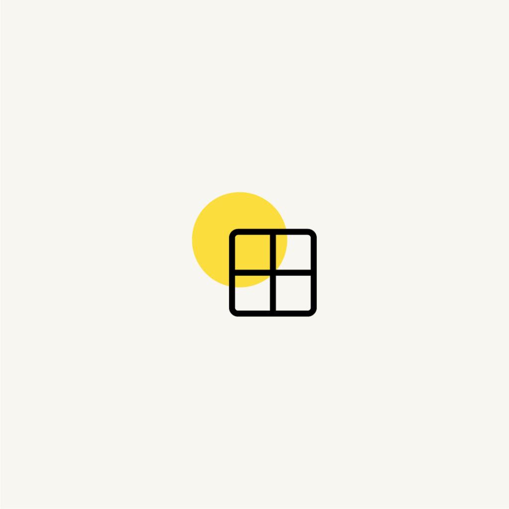Pictogramme clépucine graphiste, création personnalisé, moodboard