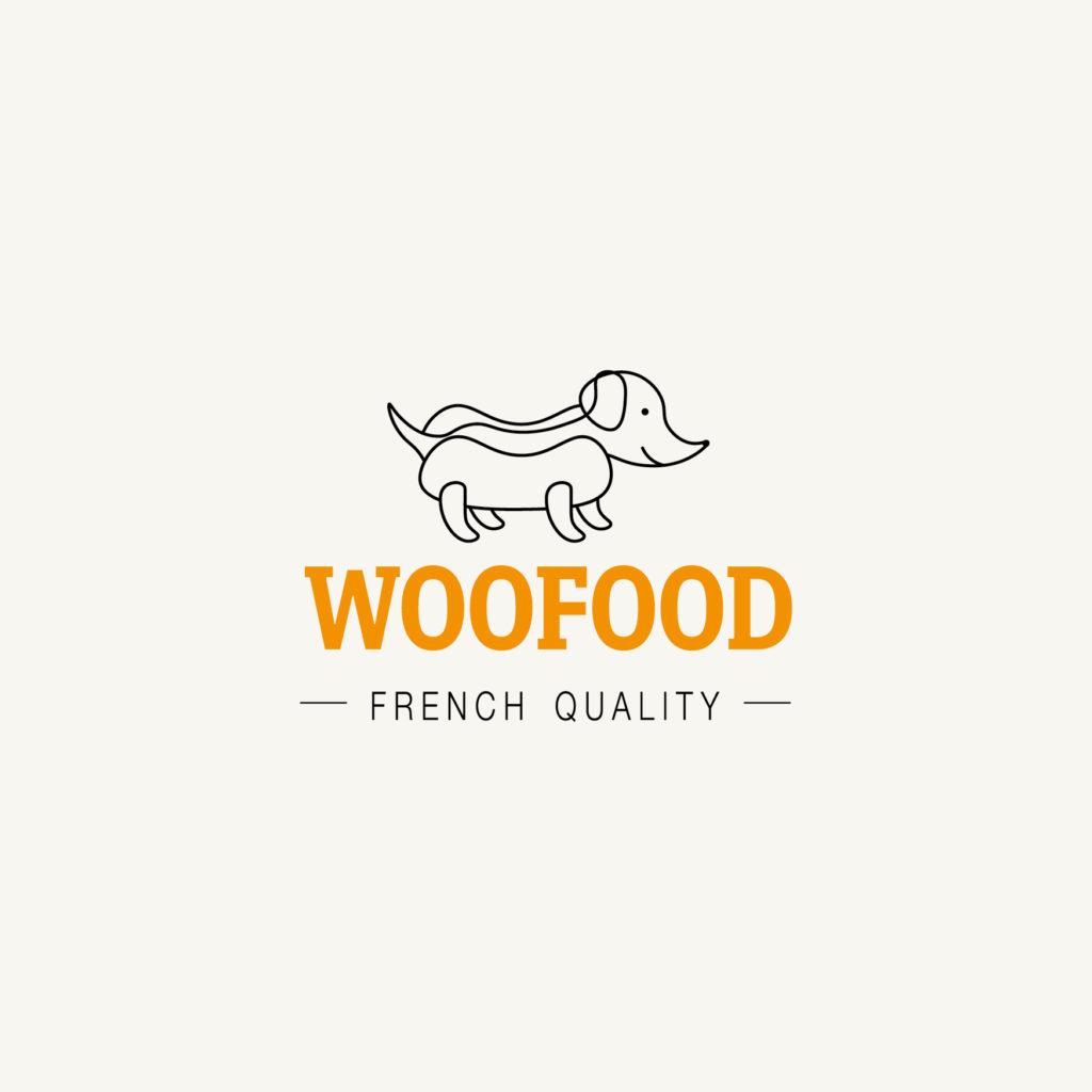 Création de logo, concept store, foodtruck pour chiens